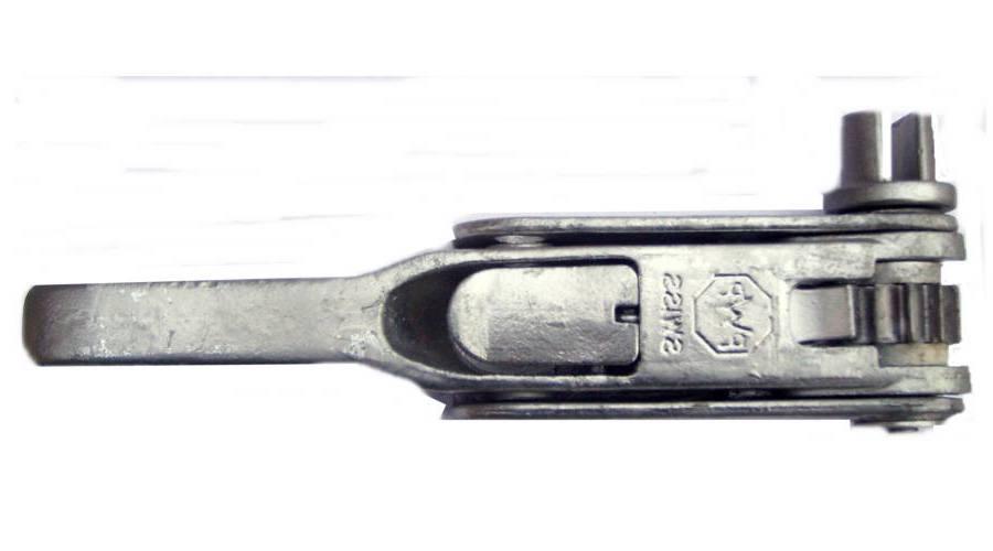 Механизм натяжения тента тип PWP, левый (прорезь) Suer 670905111