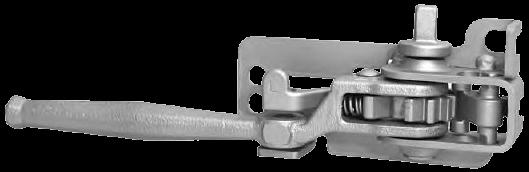 Механизм натяжения тента тип THIRIET, левый (квадрат) Kogel 3110878