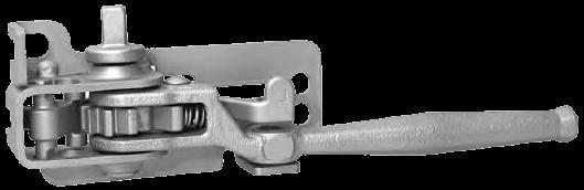 Механизм натяжения тента тип THIRIET, правый (квадрат) Kogel 3110877
