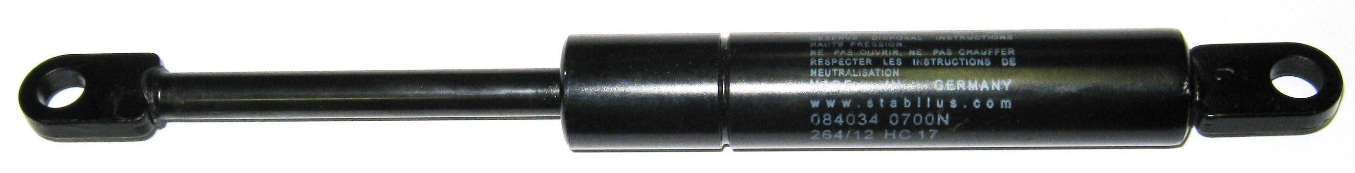 Амортизатор для каретки сдвижной крыши 600N (156мм) Sesam/Stabilus 130250600/4769QR
