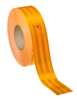 Светоотражающая лента желтая 3M (50 метров)