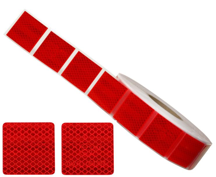Лента красная для мягких поверхностей 3M (50 метров)