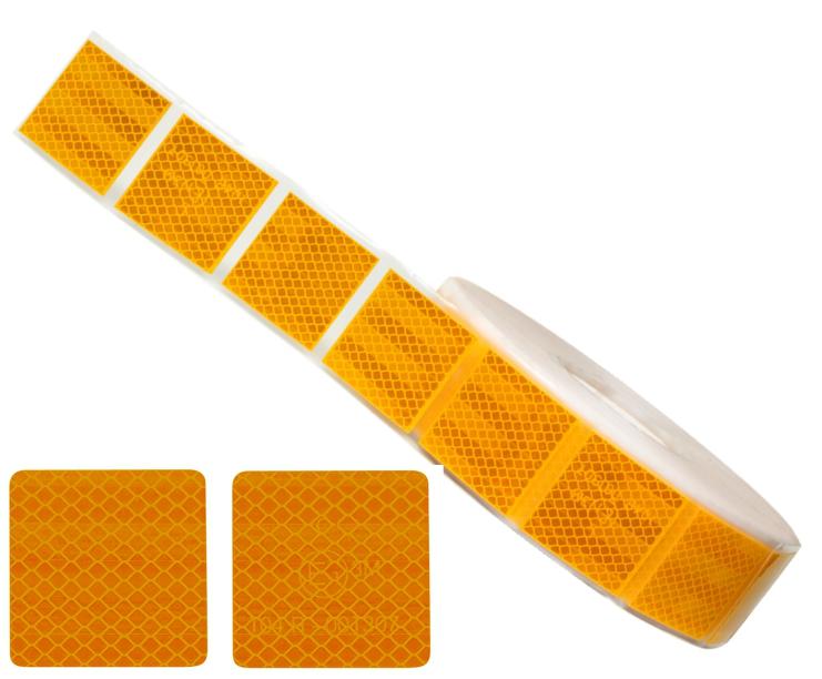Лента желтая для мягких поверхностей