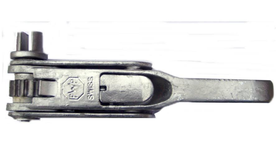 Механизм натяжения тента тип PWP, правый (прорезь) Suer 670905112