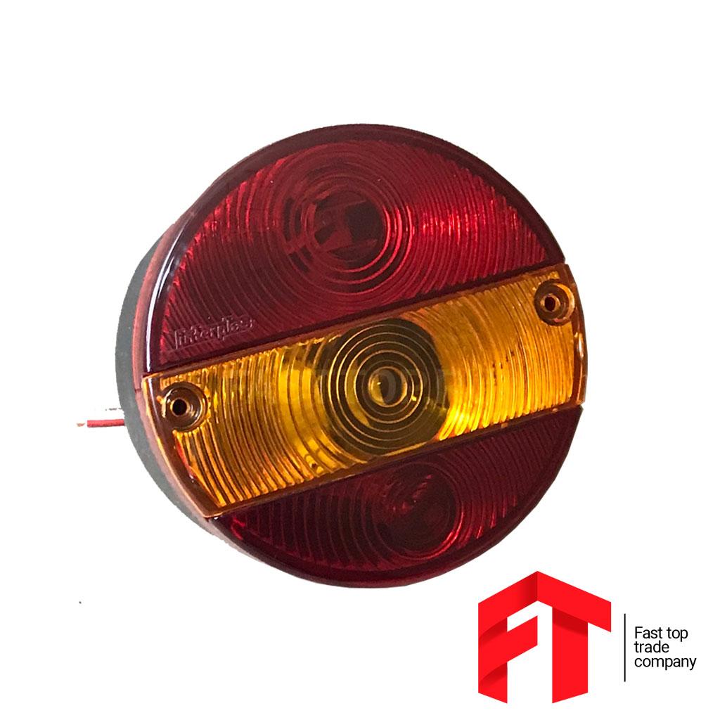 Фонарь задний в сборе с подсветкой номера, левый, б/л (ан. ТН-188)